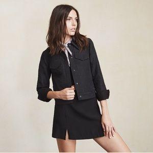 Reformation | NWOT Ringo Jacket in Black